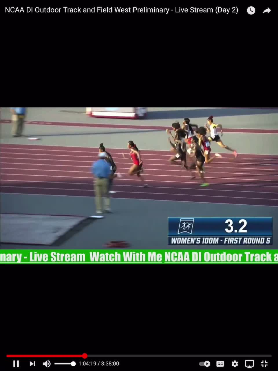 NCAA regional why faster