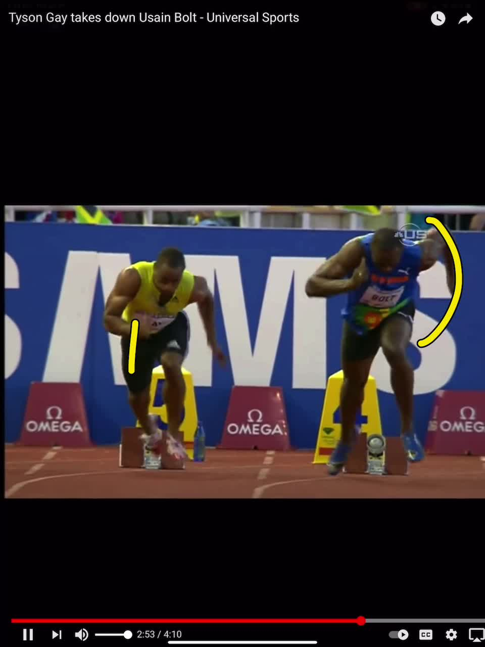 bolt and gay elbow versus hand
